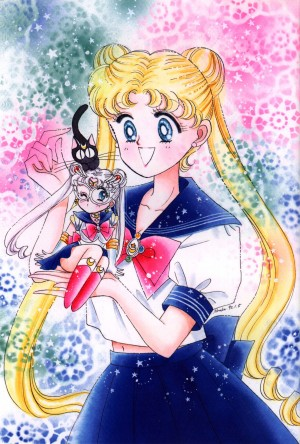 Sailor Moon Manga Artbook - Sailor Moon Original Picture Collection Vol. I