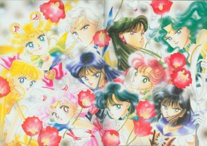 Sailor Moon Manga Artbook - Sailor Moon Original Picture Collection Vol. III
