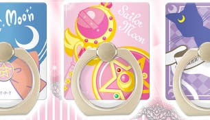 "Новая продукция - ""Queen Serenity Pullip Doll"", ""Luna & Artemis Notebook Phone Flip Cover"" и ""Sailor Moon Character Rings Smartphone Accessory""."